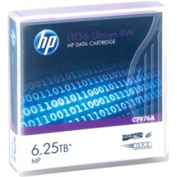 HPE HP LTO6 Ultrium 2.5TB/6.25TB RW Data Car