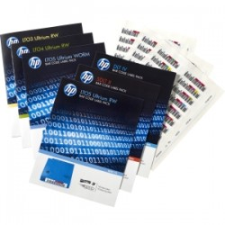 HPE HP LTO6 Ultr RW Bar Code Label Pack 100'