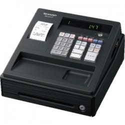 SHARP XEA147 BLACK CASH REGISTER