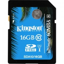KINGSTON 16GB SDHC Class 10 UHS-I Ultimate Flash