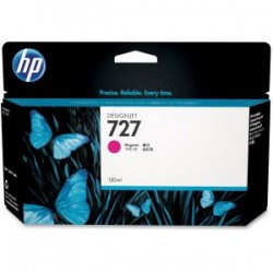 HP 727 130ml Magenta Ink Cart B3P20A