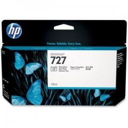 HP 727 130ml Photo Black Ink Cart B3P23A