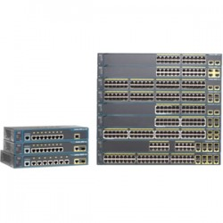 CISCO Catalyst 2960 Plus 24 10/100 PoE + 2 T/S