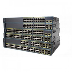 CISCO Catalyst 2960 Plus 24 10/100 + 2T/SFP LA