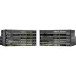 CISCO Catalyst 2960-X 24 GigE PoE 370W 1GB