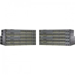 CISCO Catalyst 2960-X 48 GigE PoE 740W 1GB
