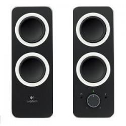 LOGITECH Z200 Multimedia Speakers- Midnight Black