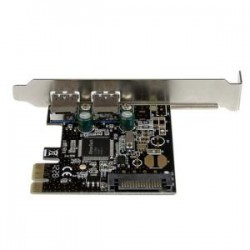 STARTECH 2 Port PCIe USB 3.0 Card w/ SATA Power
