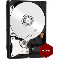 WESTERN DIGITAL HARD DRIVE 4TB RED 64MB 3.5 SATA 6GB/s