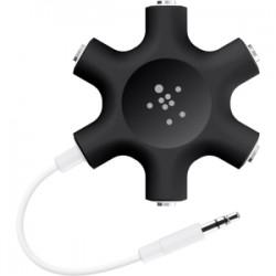 BELKIN Rockstar mult headphone splitter Blk