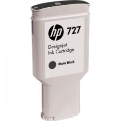 HP 727 300ml Matte Black Ink Cart C1Q12A
