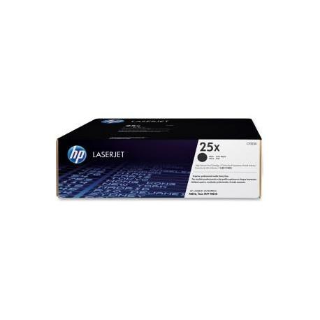 HP TONER CARTRIDGE HP 25X LASERJET BLACK