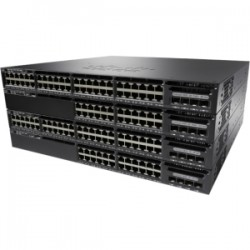 CISCO Cat 3650 48 Port PoE 4x1G Uplink IP Base
