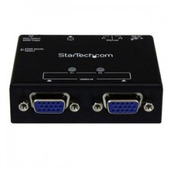 STARTECH 2-Port VGA Auto Switch Box w/ Switching