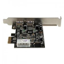 STARTECH 2 Port PCIe USB 3.0 Card with UASP