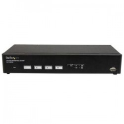 STARTECH 4 Port USB VGA KVM Switch with DDM