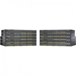 CISCO Catalyst 2960-X 24 GigE PoE 92W 2xSFP