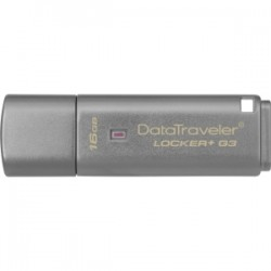 KINGSTON 16GB USB 3.0 DT Locker G3 w/Automatic D