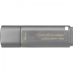 KINGSTON 8GB USB 3.0 DT Locker G3 w/Automatic Da