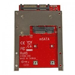 STARTECH mSATA SSD to 2.5IN SATA Adapter Converte