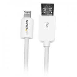 STARTECH 10 ft White 8-pin Lightning to USB Cable