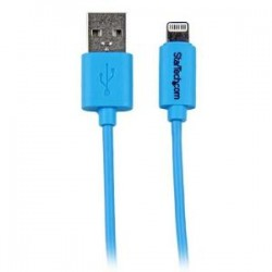 STARTECH 1m Blue 8-pin Lightning to USB Cable
