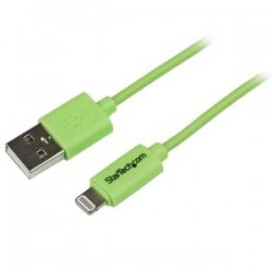 STARTECH 1m Green 8-pin Lightning to USB Cable