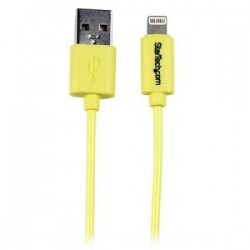 STARTECH 1m Yellow 8-pin Lightning to USB Cable