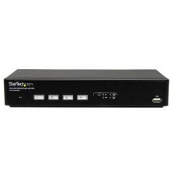 STARTECH 4 Port USB DVI KVM Switch with DDM