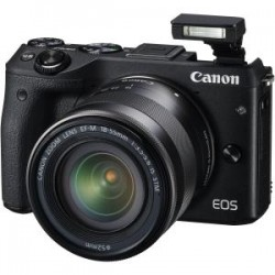 CANON M3KISB EOS M3 BLACK WITH EF-M 18-55ISSTM