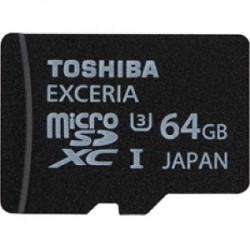 TOSHIBA 64GB MicroSD EXCERIA UHS-1 U3 (R95/W60)