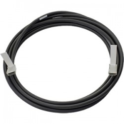 HPE HP BLC 40G QSFP+ QSFP+ 5M DAC CABLE