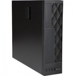 IN WIN CE052 mATX/MINI-ITX SFF SLIM BLACK 300W