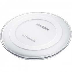 SAMSUNG WIRELESS CHARGING PAD ROUND WHITE