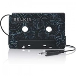 BELKIN MP3/CD/MD CASSETTE ADPTR * 3.5MM MINI-ST