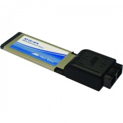 ALLIED TELESIS 100BaseFX ExpressCard/34 Fiber card w/SC