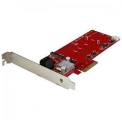 STARTECH M.2 RAID CONTROLLER CARD + 2X SATA PORTS