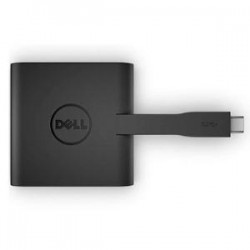 DELL DA200 USB-C to HDMI/VGA/Ethernet/USB 3.