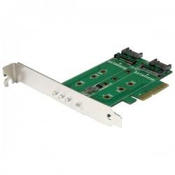 STARTECH M.2 SSD Card 1x PCIe (NVMe) 2x SATA M.2