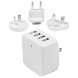 STARTECH 4-Port USB Wall Charger 34W / 6.8A