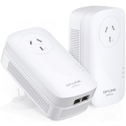 TP-LINK AV2000 2-PORT POWERLINE STARTER KIT