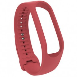 TOMTOM TRACKER STRAP - CORAL RED (LARGE)