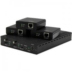 STARTECH 3 PORT HDBASET EXTENDER KIT - UP TO 4K