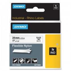 DYMO INDUSTRIAL TAPE 24MM X 3.5M FLEXIBLE NYL