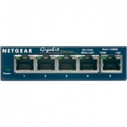 NETGEAR GS105 5PT GIGABIT ETHERNET SWITCH
