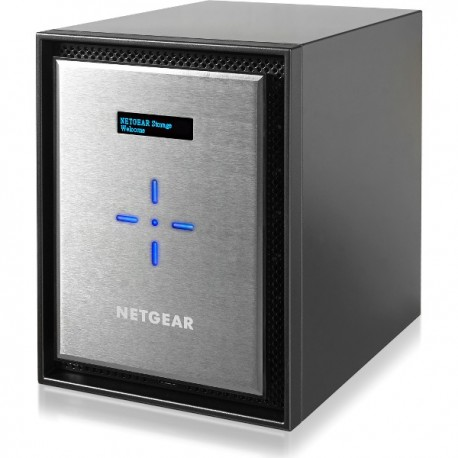 NETGEAR DESKTOP NAS 10GBASE-T 6-BAY DISKLESS