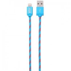 STM CABLE BRAID LIGHT. (1M) - BLUE