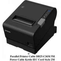 Epson TM-T88VI Parallel Bundle w/ cable