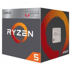 AMD RYZEN 5 2400G WITH WRAITH STEALTH COOLER