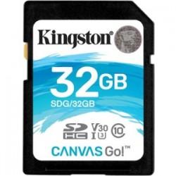 KINGSTON 32GB SDHC CANVAS GO 90R/45W